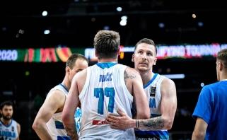Olimpinė svajonė sudužo: atrankos finale triumfavo Slovėnija (pasitraukė Maskoliūnas)