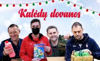 LKL treneriai nuotaikingai apsikeitė kalėdinėmis dovanomis
