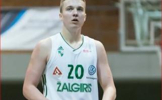"""Dziudo į krepšinį išmainęs """"Žalgirio"""" talentas svajoja žaisti Eurolygoje"""
