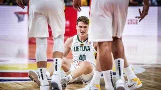 Paaiškėjo Lietuvos rinktinės rungtynių laikai antrajame etape