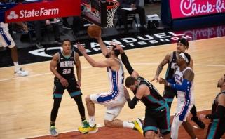 Sirvydis atliko pirmuosius metimus NBA, Valančiūnas sužaidė kukliausią mačą