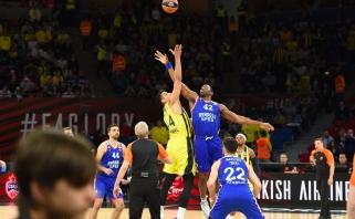 """""""Fenerbahče"""" palaužė Eurolygos vicečempionus ir išlygino finalo serijos rezultatą"""