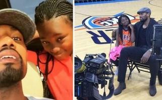 Keista ir jautri istorija: nuo NBA milžino daug metų buvo slepiama, kad jis turi dukrą