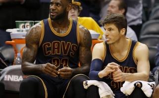 """NBA naktis: """"Cavaliers"""" rado naują mirtiną ginklą, """"Heat"""" įsibėgėjo ne juokais"""