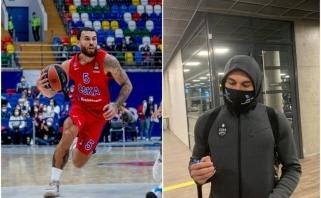 Taikos pypkė surūkyta: CSKA žvaigždė nusileido Kaune (Maskvos klube – koronaviruso atvejis?)