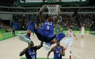 JAV rinktinės puolimas Rio prarijo Kinijos komandą