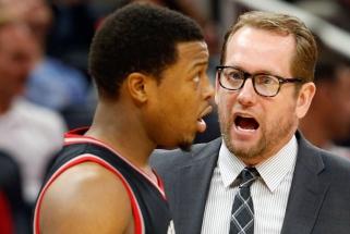 N.Nurse'as taps vienu geriausiai apmokamų NBA treneriu