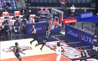Valančiūno komandos žvaigždės skrydis – tarp įspūdingiausių NBA momentų