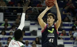 """Geriausiu Ispanijos lygos jaunuoju krepšininku pripažintas """"Estudiantes"""" puolėjas"""