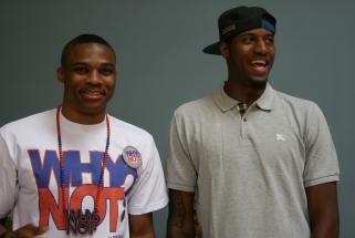 NBA savaitės geriausieji - P.George'as ir R.Westbrookas