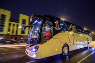 Vyrų rinktinei - naujas autobusas