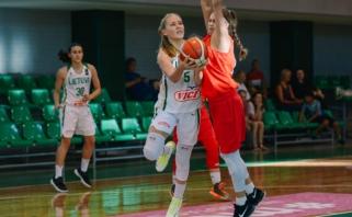 Europos čempionatui Kaune besiruošiančios šešiolikmetės įveikė latves