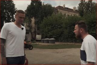 """Kaip humoristas M.Bartuševičius R.Javtoką ruošė """"Žalgirio"""" Klubo turnyrui"""