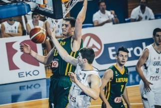 Lietuvos dvidešimtmečiai Europos čempionate liko šešti