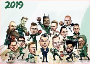 """""""Žalgirio"""" superherojų 2019 metų kalendorius - jau prekyboje!"""