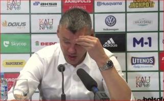 Š.Jasikevičius: momentais man buvo labai nemalonu (video konferencija)