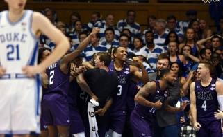 NCAA čempionate - sensacingas Djuko universiteto pralaimėjimas paskutinę sekundę