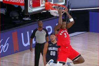 """Monstriški OG Anunoby ir J.Granto dėjimai - NBA """"Top 10"""" viršūnėje"""