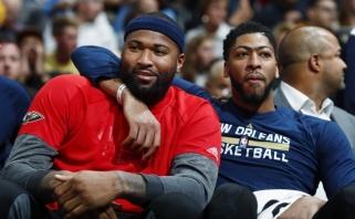 """Tandemas su Davisu grįžta: Cousinsas keliasi į """"Lakers""""; lieka ir Rondo"""
