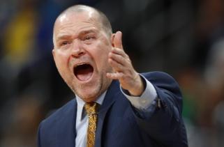 """""""Nuggets"""" treneris nepatenkintas teisėjavimu: nekantrauju pamatyti įrašą, už ką skyrė baudas"""