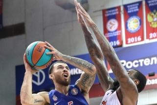 """Naujasis CSKA taškų """"fabrikas"""": nežaidžiu kaip Jasikevičius, bet dėl to nesu už jį blogesnis"""