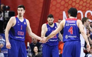 CSKA VTB lygos finalą pradėjo pergale po labai permainingos kovos