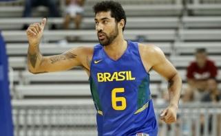 """Brazilai prieš mačą su Lietuva sumindė kinus, rezultatyviausias - """"Žalgirio"""" naujokas"""