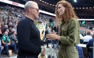 #TimeOutŽalgiris. Pirmųjų Eurolygos rungtynių užkulisiai bei M.Kalniečio mylimas G.Paškevičius