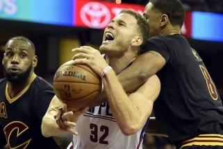 """Pakrikusius NBA čempionus sutriuškino """"Clippers"""" (rezultatai)"""