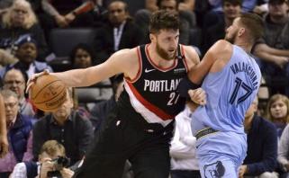 """Bosnijos krepšinio žvaigždė J.Nurkičius papasakojo apie savo pyktį po iškeitimo iš """"Nuggets"""" į """"Blazers"""""""