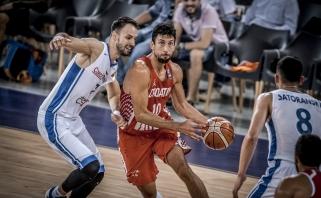 Kroatai pasityčiojo iš Čekijos krepšininkų ir užsitikrino antrą vietą C grupėje