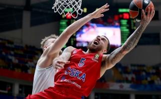 CSKA lyderis M.Jamesas: šiuo metu Eurolygoje tik trys klubai gali vadintis grandais