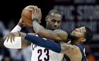 """Pabaigoje vos pergalės iš rankų neišleidęs """"Cavaliers"""" antrąkart įveikė """"Pacers"""""""
