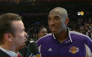 """""""Lakers"""" komentatorius apie galimą filmą apie K.Bryantą: pastaruoju metu mus visur sekiojo kameros"""