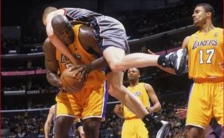 """Sh.O'Nealas: 2002 metų finalo serija buvo nuobodi dėl """"Nets"""" vidurio puolėjo"""