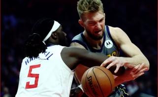 """D.Saboniui nepavyko perlipti pirmojo """"NBA2K"""" turnyro barjero"""