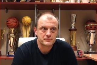 """Ryto"" legenda A.Giedraitis: vilniečiai tikrai gali kibti į atlapus ""Lokomotivui"""