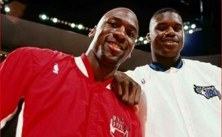 Sh.O'Nealas apie pirmą akistatą su MJ: supratau, kad jis žmogus - vos neblokavau jo metimo