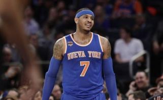 """""""Knicks"""" su M.Kuzminsku pralaimėjo ir antrą Niujorko derbį"""