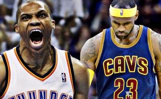 NBA kovo mėnesio geriausieji - L.Jamesas ir R.Westbrookas