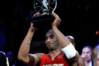 """NBA """"Visų žvaigždžių"""" rungtynių MVP titulas pavadintas K.Bryanto vardu"""