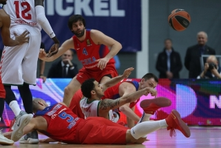 K.Hineso baudų metimai išplėšė dramatišką pergalę CSKA (video)