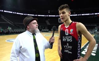 G.Masiulis ir D.Sirvydis - geriausi Lietuvos jaunieji krepšininkai