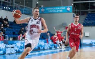 NKL savaitės MVP M.Linkevičius: sąlygos Jonavoje labai panašios į LKL