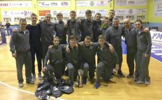 Šešiolikmečių turnyre Lietuvos penkiolikmečiai - ketvirti