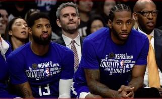 """""""Clippers"""" į 6 rungtynių turnė išvyko be abiejų žvaigždžių ir pagrindinio įžaidėjo"""