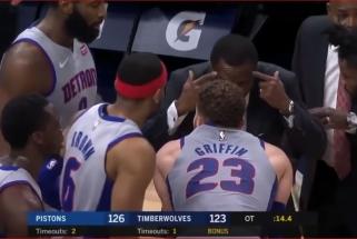 """""""Timberwolves"""" gerbėją išvarė iš arenos už žodinį konfliktą su B.Griffinu"""