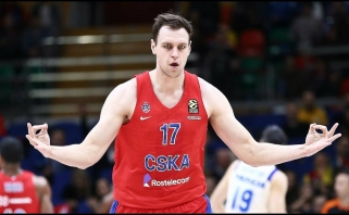 CSKA neturėjo vargo ir be vėl nežaidusio Jameso