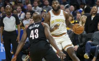 NBA lyderiai patyrė pirmą nesėkmę, vicečempionų reikalus taisė naujokas