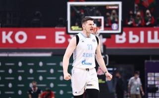 """Lietuviškaisis """"Zenit"""" nepasigailėjo buvusios Kuzminsko ekipos"""
